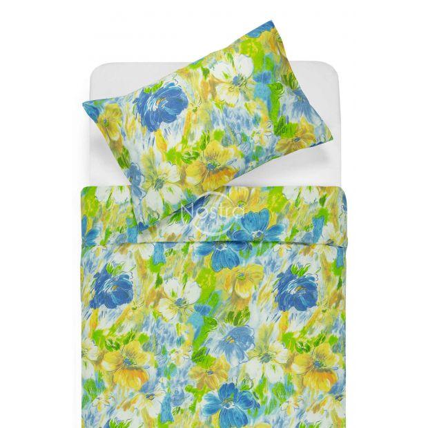 Lõuendriidest voodipesukomplekt DELPHINE 40-0064-BLUE
