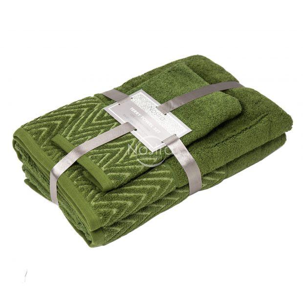 3 osaline rätikukomplekt T0108 T0108-MOSS GREEN