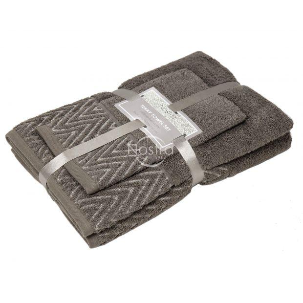 3 osaline rätikukomplekt T0108 T0108-BROWN 393