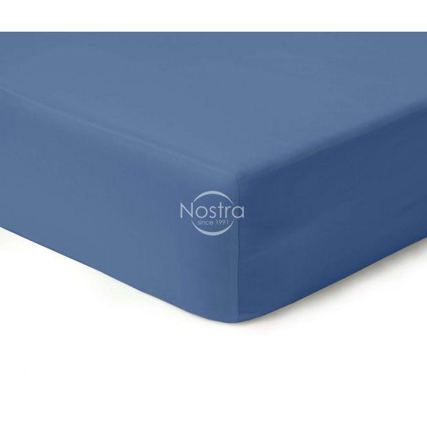 Satiinist voodilina kummiga 00-0271-BLUE