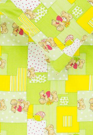 Children bedding set LITTLE BEAR & HEARTS
