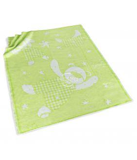 Детское одеяло SUMMER 80-1003-GREEN 5