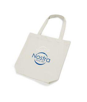 Orgaanilisest puuvillast kott 00-0076-NATURAL LOGO