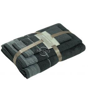 Kolmeosaline rätikute komplekt T0044 T0044-ANTHRACITE