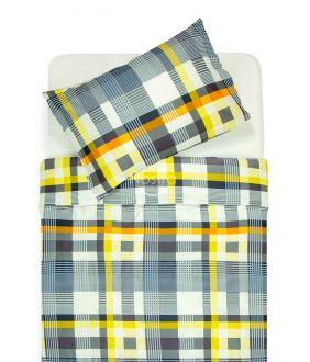 Sateen bedding set ADIRA 30-0404-DARK KHAKI