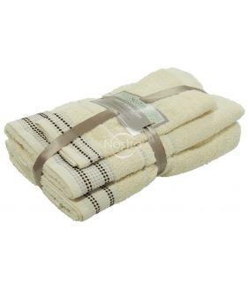 Kolmeosaline rätikute komplekt T0044 T0044-VANILLA