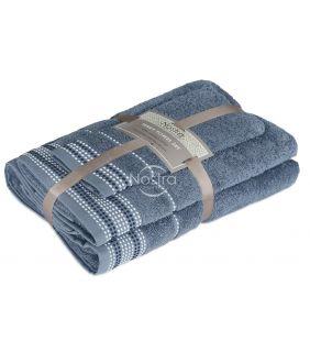 Kolmeosaline rätikute komplekt T0044 T0044-STONE BLUE