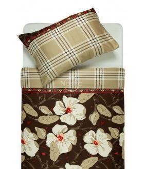 Satiinist voodipesu ALINA 20-0073-BROWN