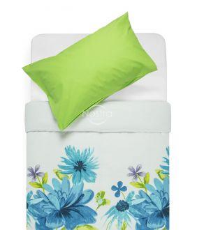 Cotton bedding set DORYS 20-1338/00-0002-BLUE/L.GREEN
