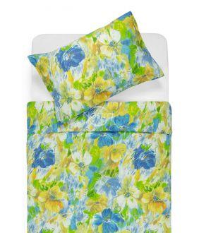 Cotton bedding set DELPHINE 40-0064-BLUE