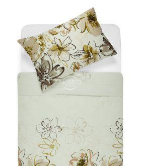 Satiinist voodipesu AGATA 20-1387-BROWN