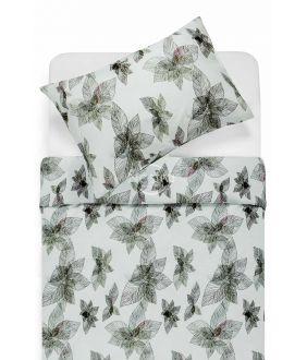 Lõuendriidest voodipesukomplekt DUSTY 20-0405-GREY