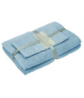 Kolmeosaline rätikute komplekt 380 ZT 380 ZT-PLACID BLUE
