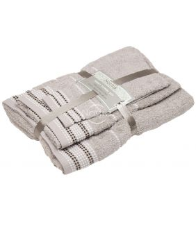 Kolmeosaline rätikute komplekt T0044 T0044-TAUPE