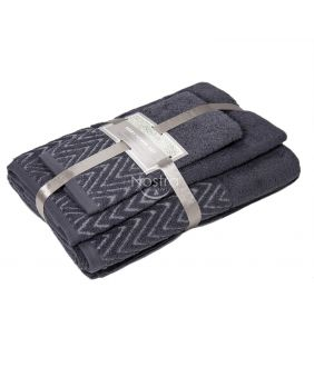 3 osaline rätikukomplekt T0108 T0108-EXC.GREY
