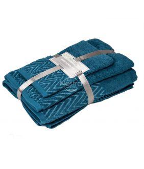 3 osaline rätikukomplekt T0108 T0108-CARIBBEAN BLUE
