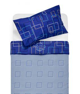 Lõuendriidest voodipesukomplekt DELILAH 30-0248-BLUE
