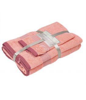 3 osaline rätikukomplekt T0106 T0106-GRAPEFRUIT
