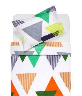 Cotton bedding set DENISA 30-0566-WHITE