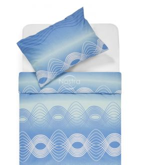 Lõuendriidest voodipesukomplekt DERBY 30-0562-L.BLUE