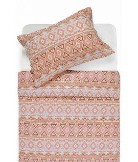 Фланелевое постельное бельё BRIDGET 40-1165-TERRACOTA