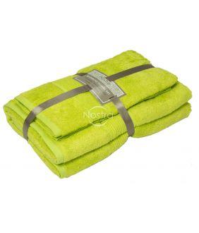 Bambusest rätikute komplekt BAMBOO-600 T0105-APPLE GREEN