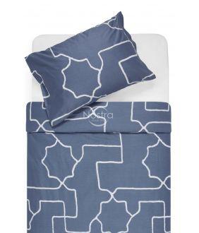 Satiinist voodipesu ADRIANE 30-0547-STONE BLUE