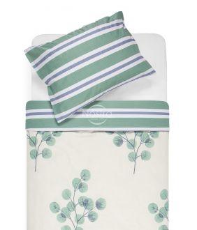 Sateen bedding set ADDIE 40-1117/30-0546-GREEN
