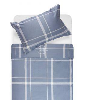 Satiinist voodipesu ADALWOLFA 30-0548-STONE BLUE