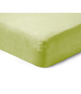 Fitted terry sheets TERRYBTL-LEAF GREEN