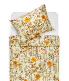 Cotton bedding set DESSA 20-1533-BEIGE
