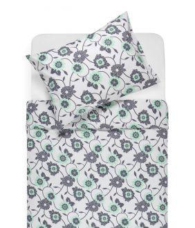 Cotton bedding set DORTE 20-1535-MINT