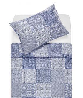 Lõuendriidest voodipesukomplekt DORITA 30-0567-BLUE