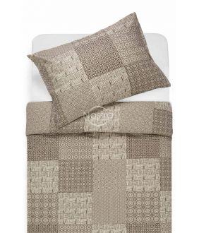 Lõuendriidest voodipesukomplekt DORITA 30-0567-BROWN