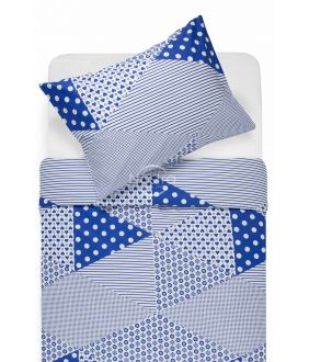 Lõuendriidest voodipesukomplekt DORCEY 30-0571-BLUE