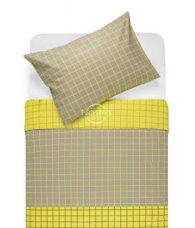 Lõuendriidest voodipesukomplekt DONYA 30-0573-BROWN