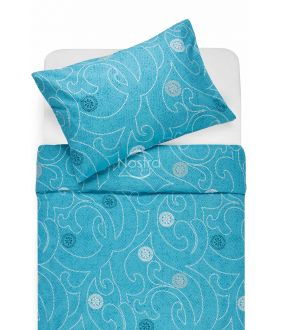 Cotton bedding set DONALDA 40-0980-BLUE
