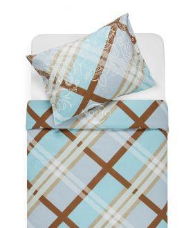 Lõuendriidest voodipesukomplekt DOMINA 40-0995-AQUA