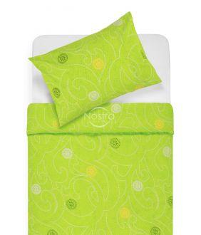 Lõuendriidest voodipesukomplekt DONALDA 40-0980-APLLE GREEN