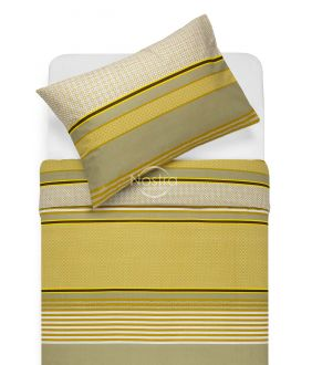 Lõuendriidest voodipesukomplekt DORIANA 30-0568-MUSTARD