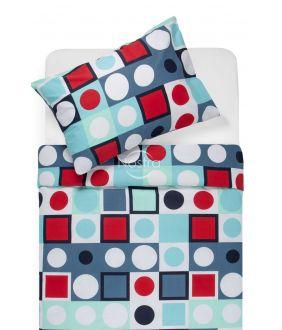 Cotton bedding set DESDEMONA 30-0535-RED