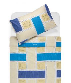 Lõuendriidest voodipesukomplekt DIAMANDA 30-0575-BLUE