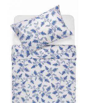 Lõuendriidest voodipesukomplekt DEVYN 40-1243-BLUE