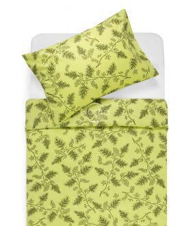 Lõuendriidest voodipesukomplekt DEVYN 40-1243-AVOCADO GREEN