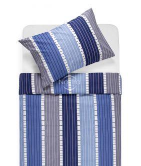 Cotton bedding set DORA 30-0572-BLUE