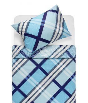 Lõuendriidest voodipesukomplekt DOMINA 40-0995-BLUE