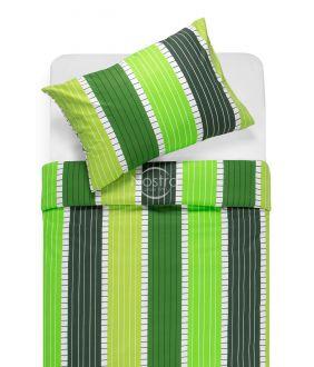 Lõuendriidest voodipesukomplekt DORA 30-0572-GREEN