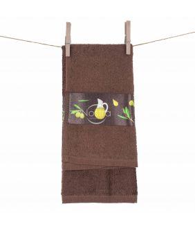 Kitchen towel 350GSM T0113-DARK CHOCO