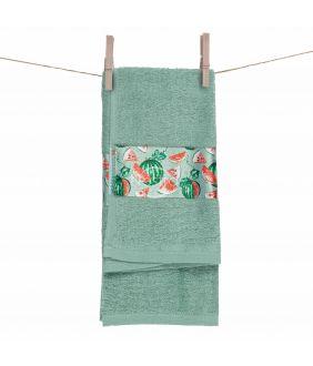 Kitchen towel 350GSM T0111-GREEN BAY