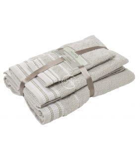 Kolmeosaline rätikute komplekt T0044 T0044-LINEN